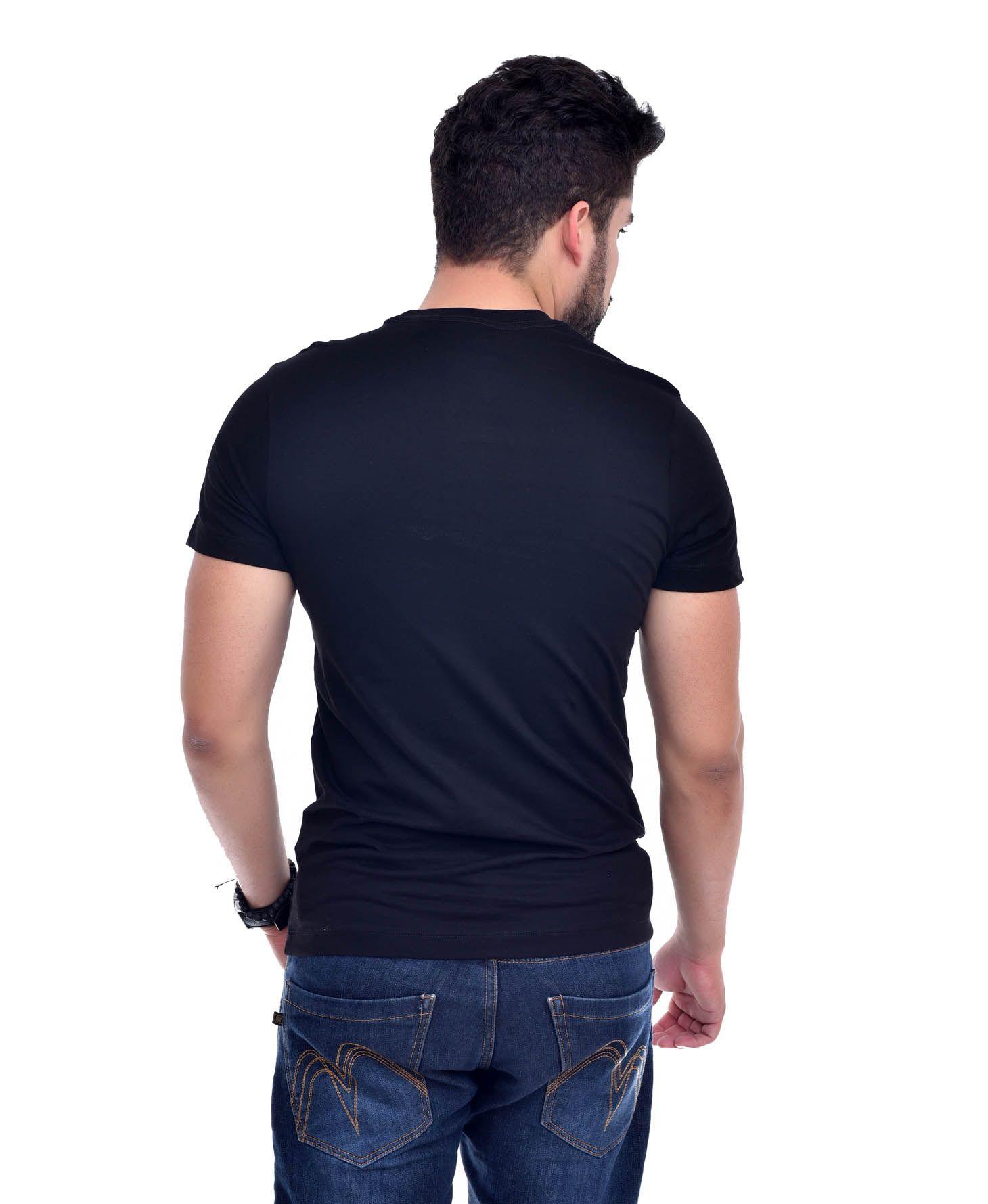 Camiseta L-04 Preta  - Ca Brasileira