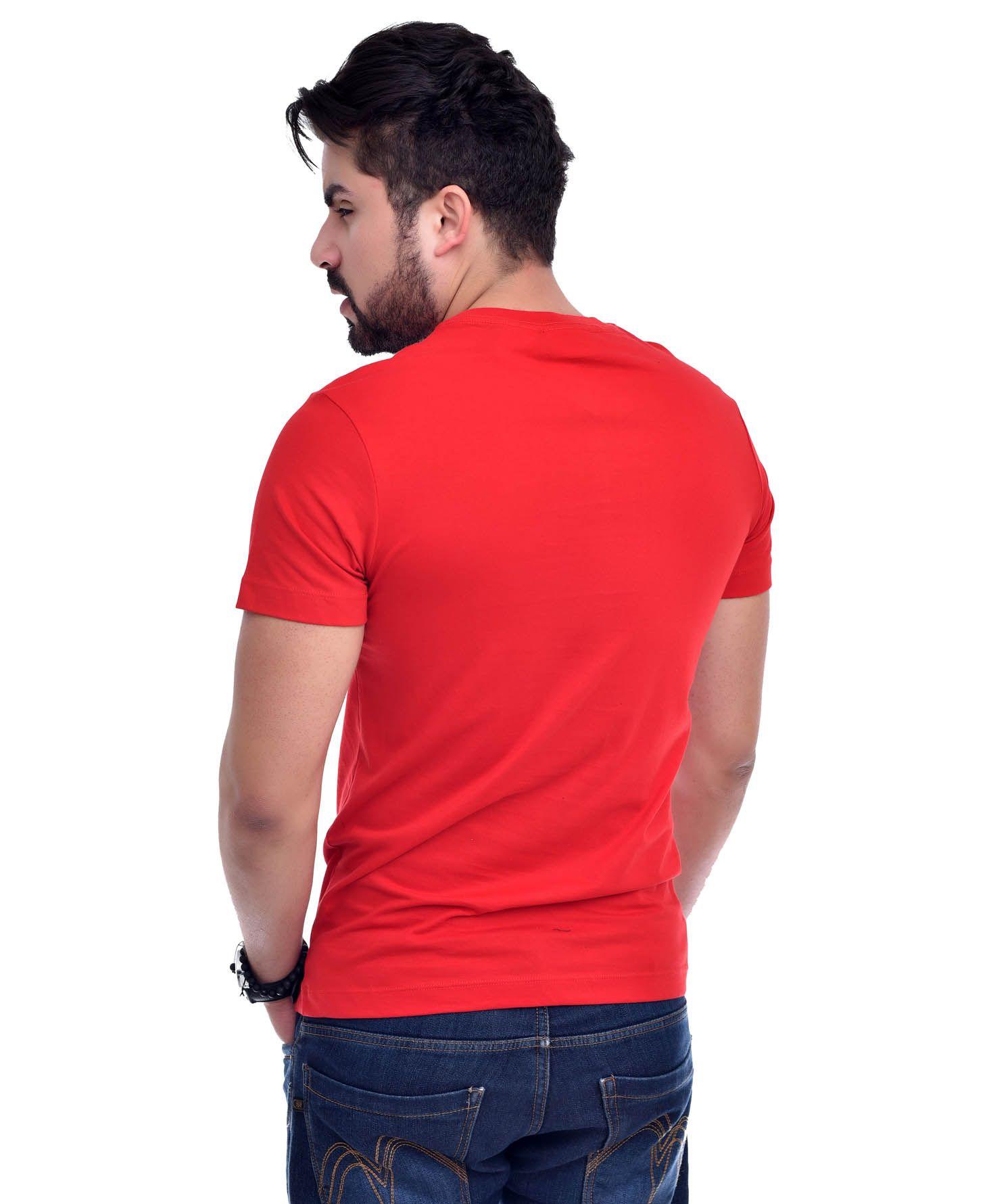 Camiseta L-05 Vermelho  - Ca Brasileira