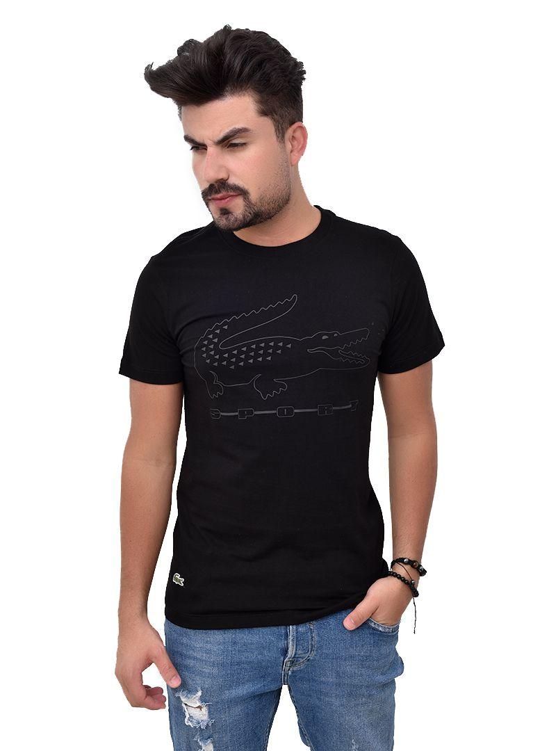 Camiseta L-10 Preta  - Ca Brasileira