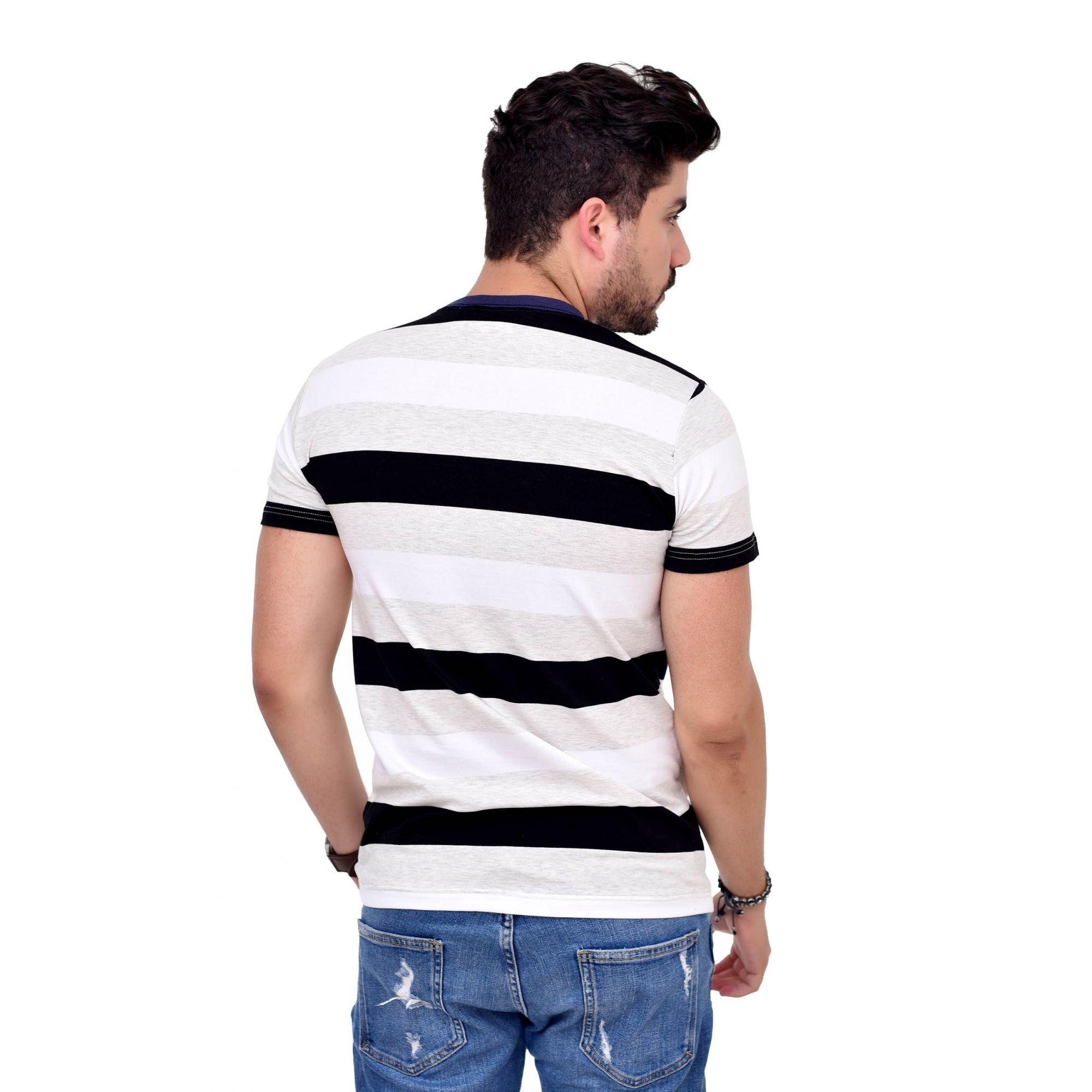 Camiseta Listrada L-26  - Ca Brasileira