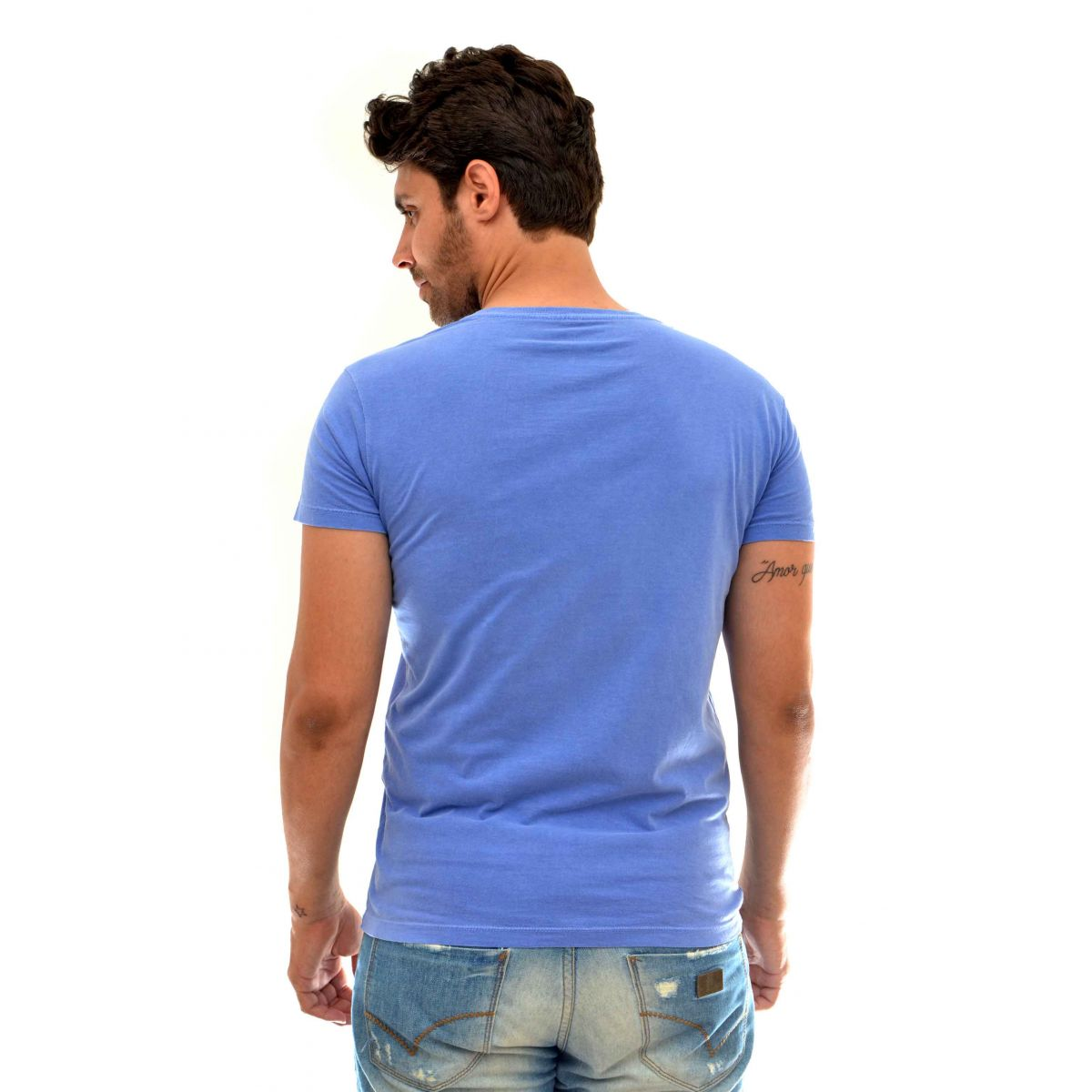 Camiseta Osklen Rj Azul  - Ca Brasileira