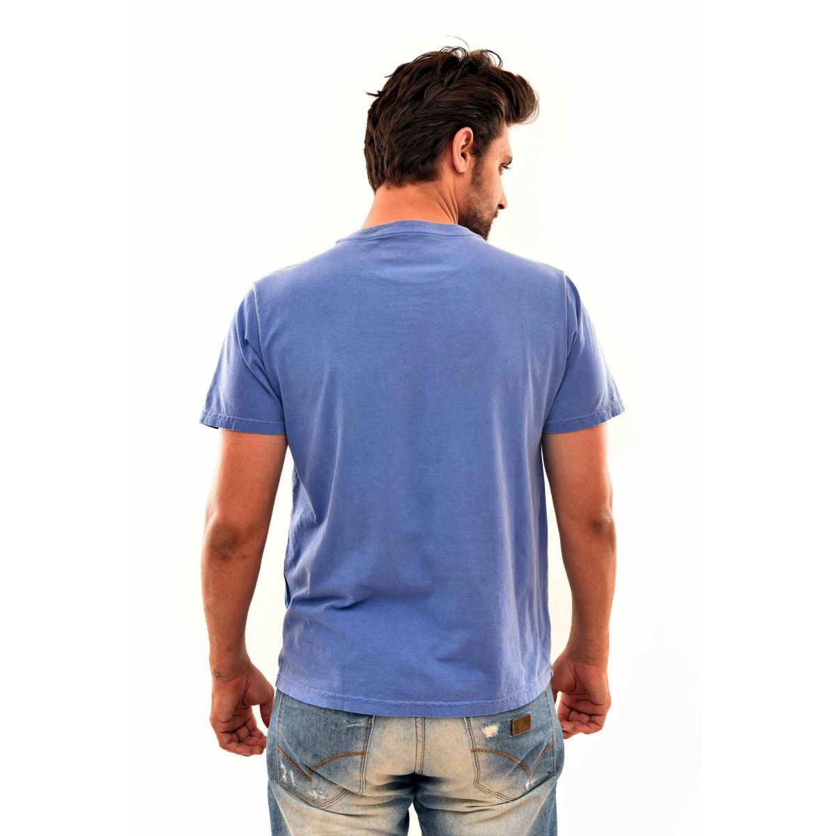 Camiseta Osklen United Azul  - Ca Brasileira