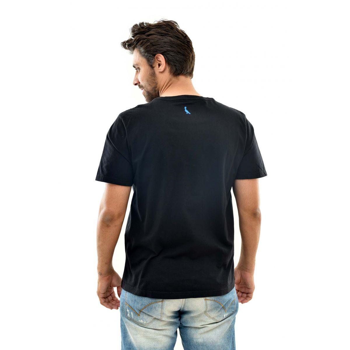 Camiseta Reserva Doubled Preta  - Ca Brasileira