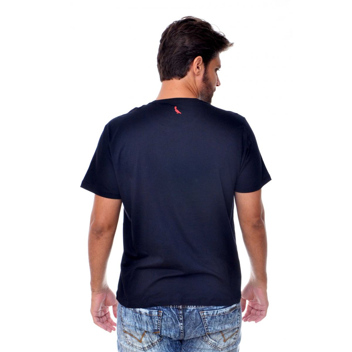 Camiseta Reserva Ha Preta  - Ca Brasileira