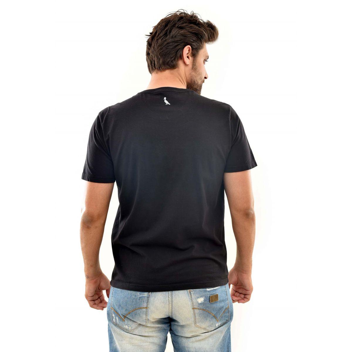 Camiseta Reserva Hindu Preta  - Ca Brasileira