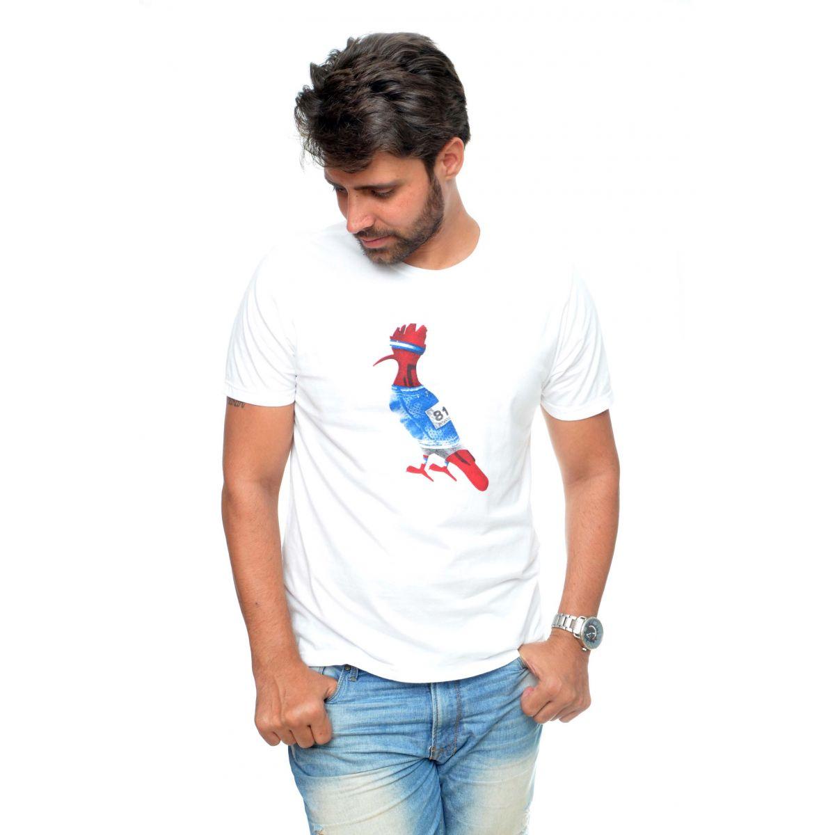 Camiseta Reserva Jogador Branca  - Ca Brasileira