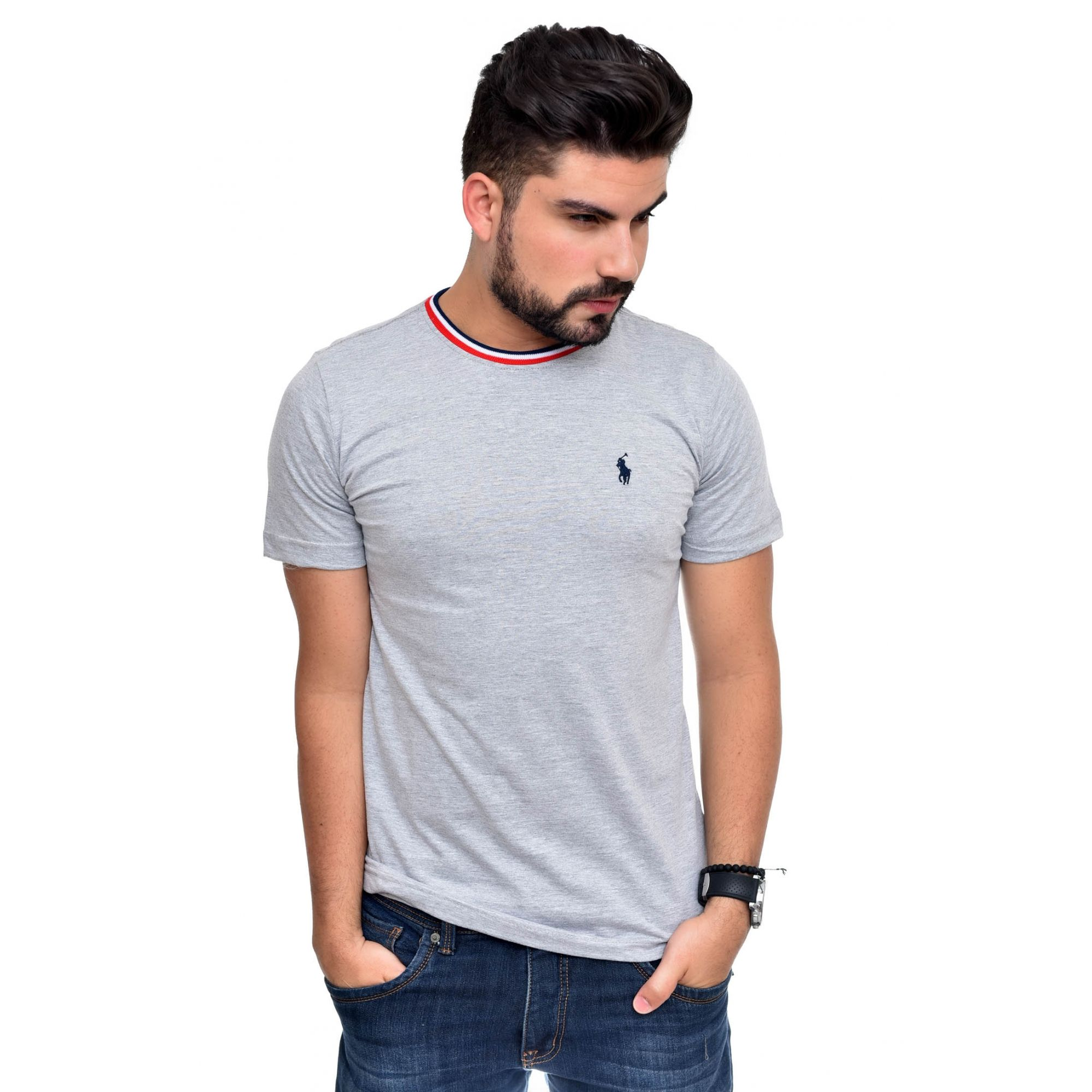 Camiseta RL Mescla Claro TR