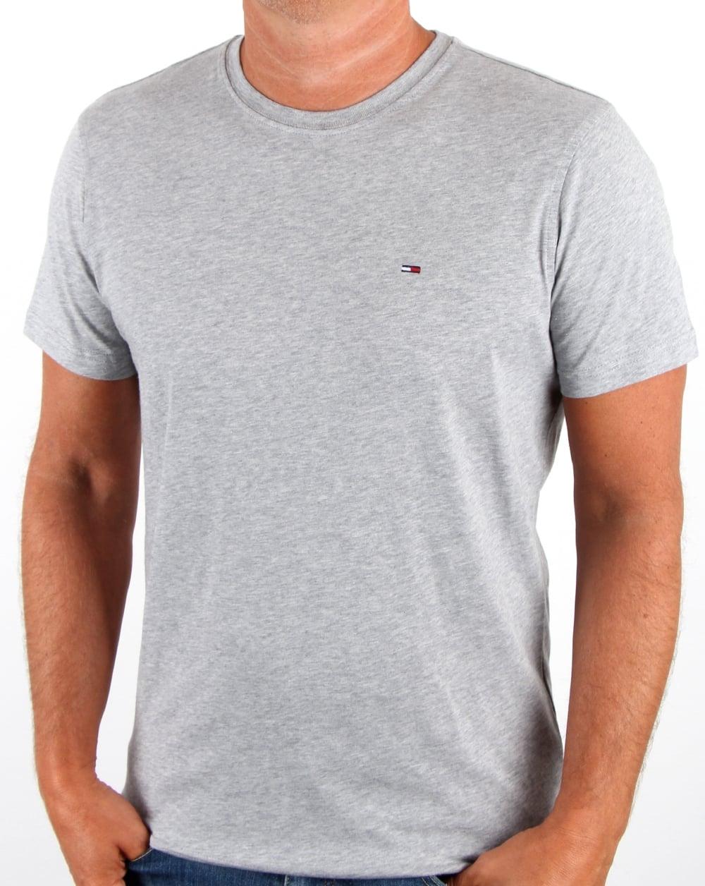 Camiseta TH Basic Mescla Claro  - Ca Brasileira
