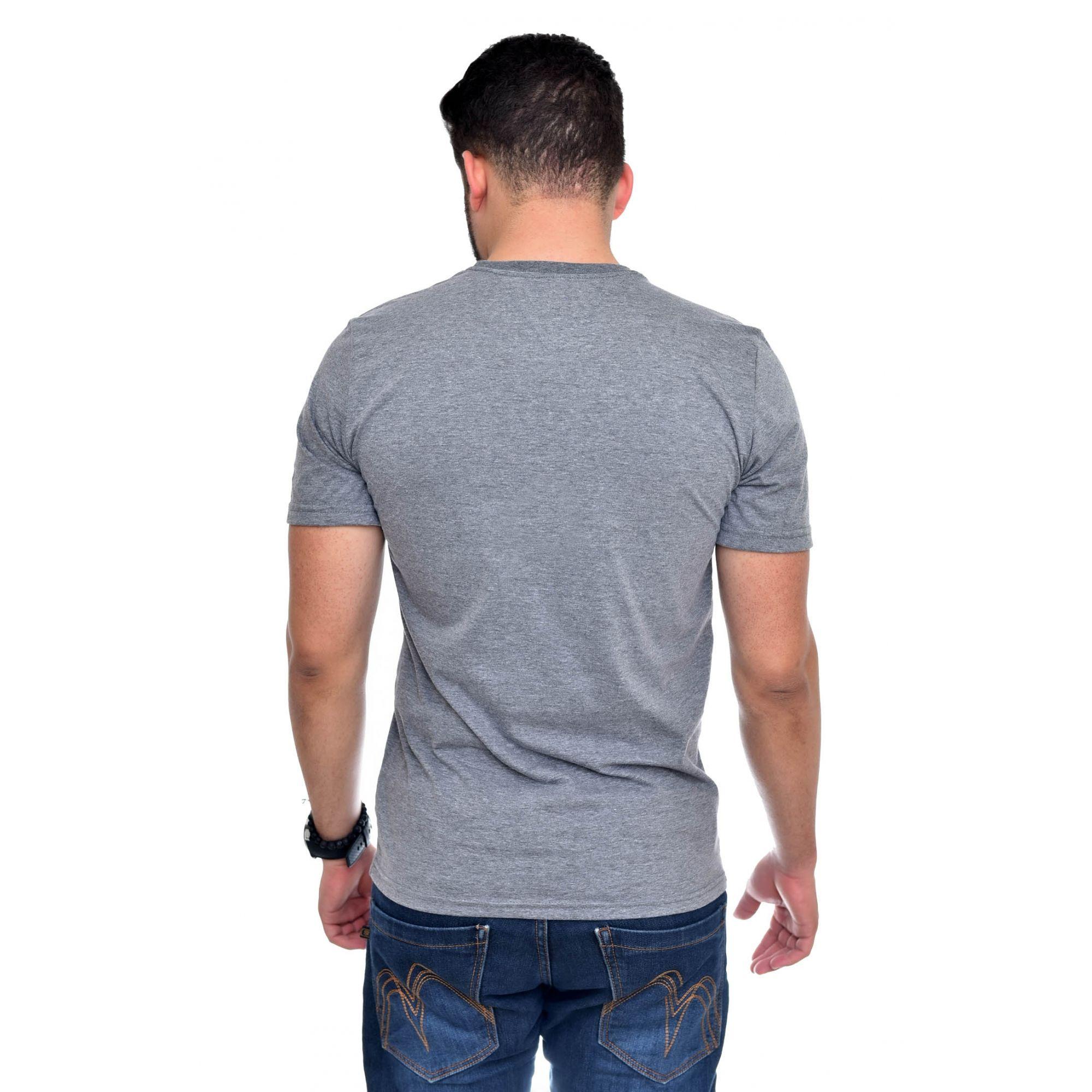 Camiseta TH Big T Mescla Escuro  - Ca Brasileira