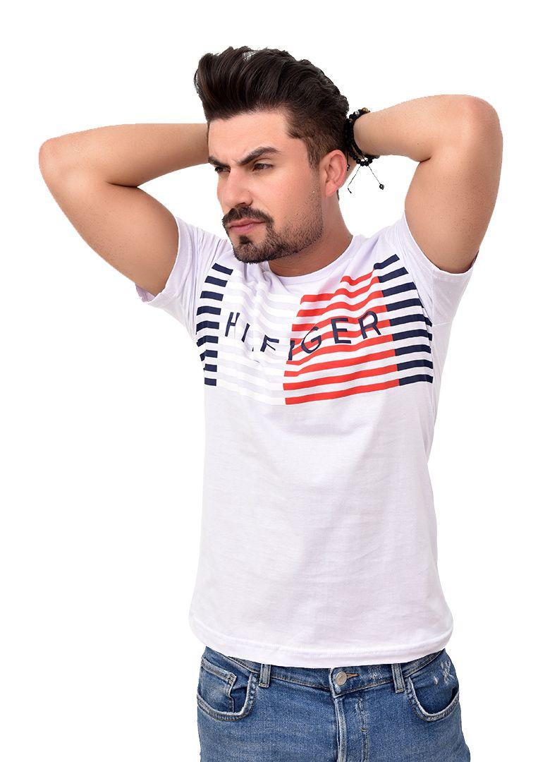 Camiseta TH Branca 25