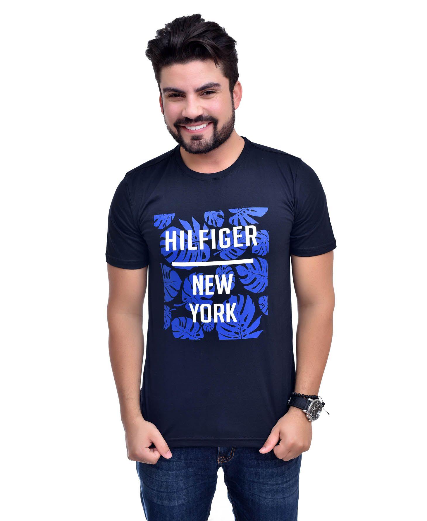 Camiseta TH Flowers Preta  - Ca Brasileira