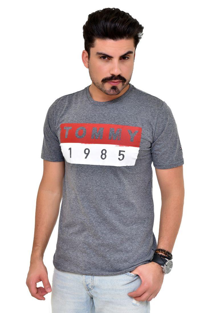 Camiseta TH Mescla Escuro Vint  - Ca Brasileira