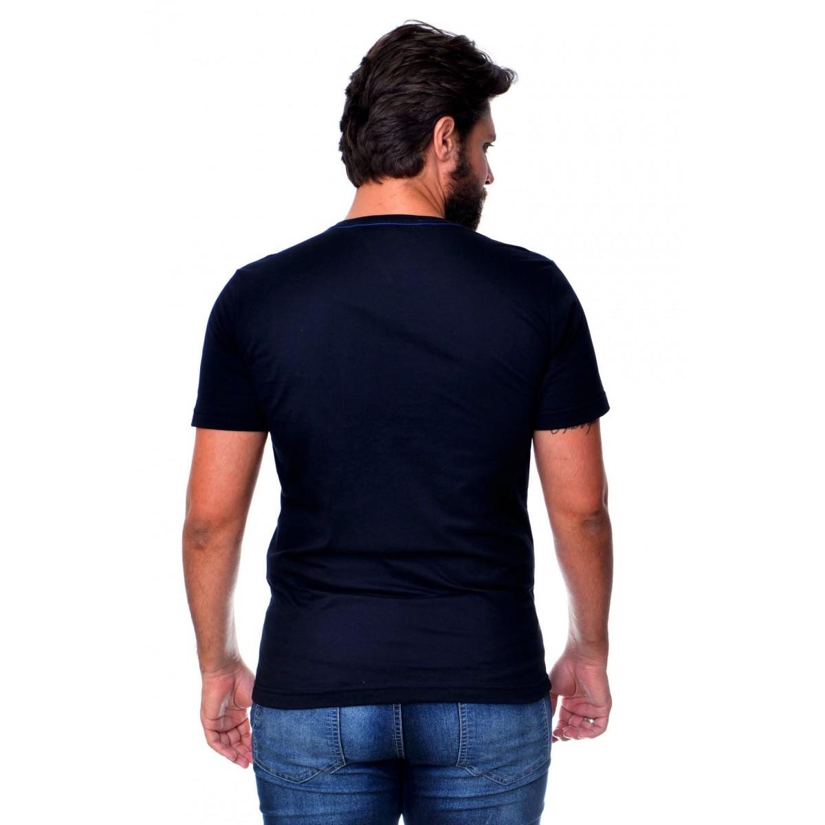 Camiseta TH Mix Preta  - Ca Brasileira