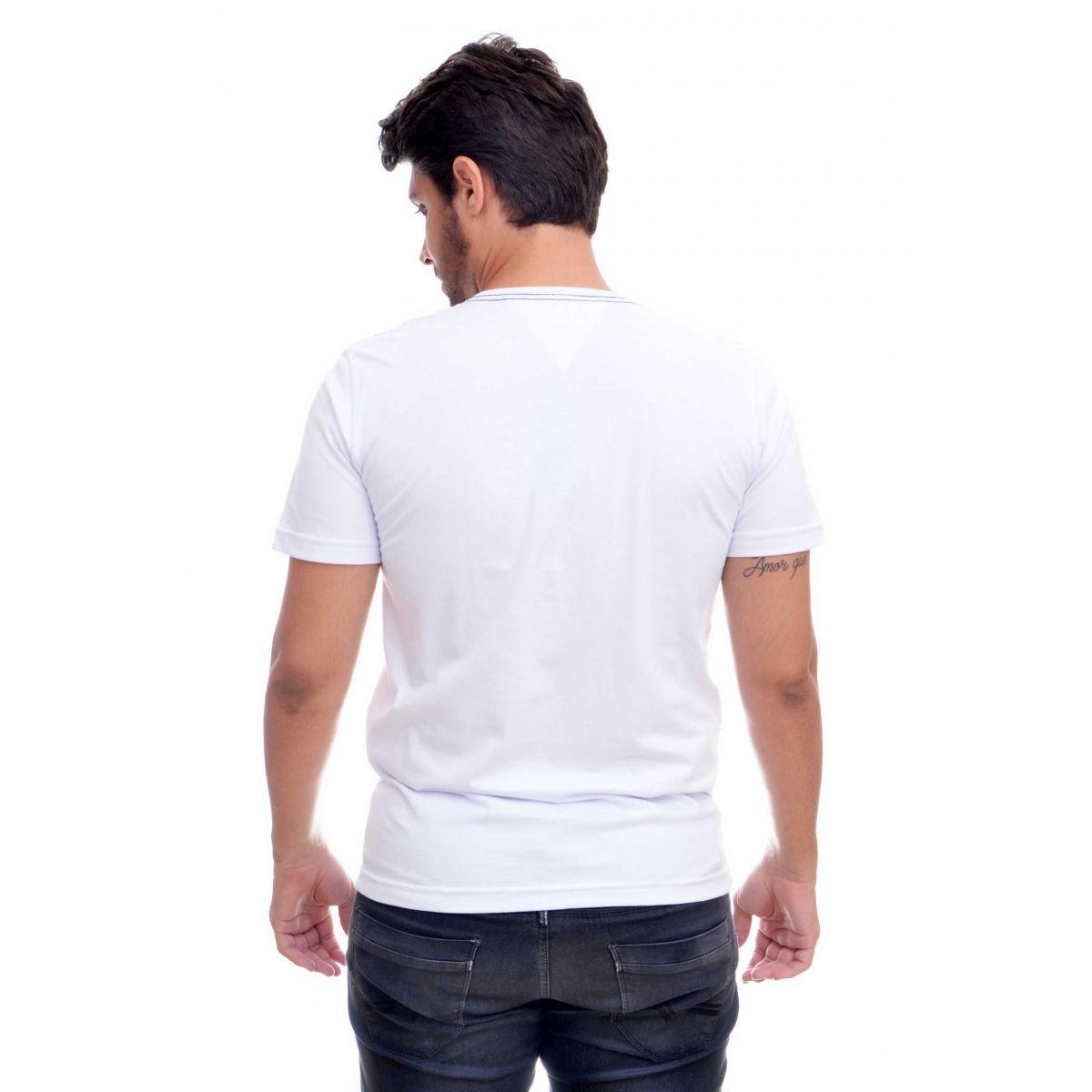 Camiseta TH NY Branca  - Ca Brasileira