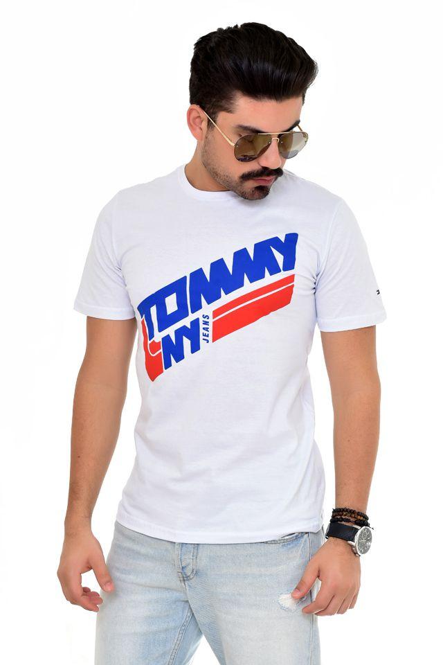 Camiseta TH NY Line Branca  - Ca Brasileira