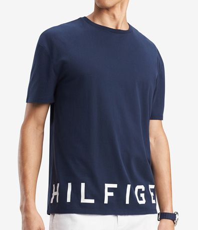 Camiseta TH Print Low Marinho  - Ca Brasileira