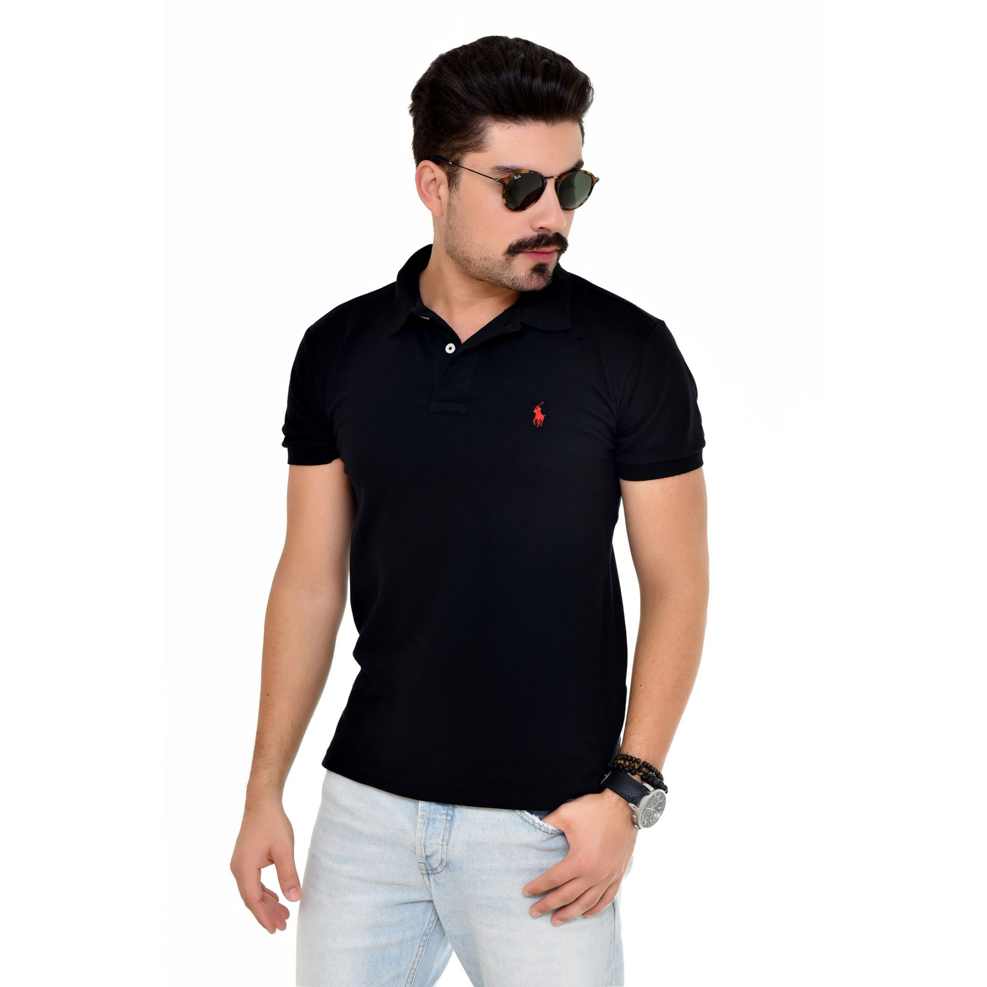 Polo RL Basic Preto
