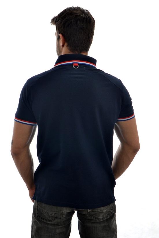 Polo Sergio K Style Marinho  - Ca Brasileira