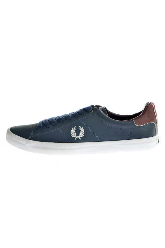 abe25cbd0a Sapatênis Fred Perry Howells Unlined Marinho Fred Perry Sapatênis ...