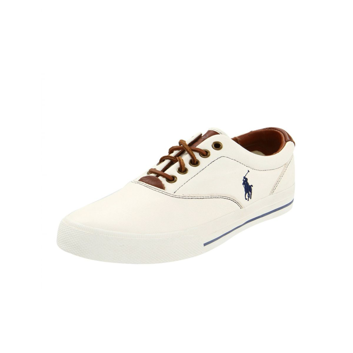 TÊNIS Polo Ralph Lauren Couro Branco Ralph Lauren Masculino Outlet ... 5bb61cfed18