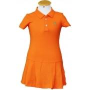 """Vestido Infantil Laranja """"6"""""""