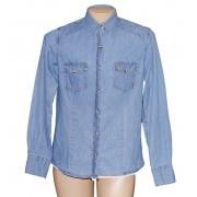 Camisa Jeans Feminina Clara