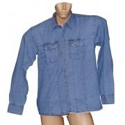 Camisa Jeans Masculina Clara