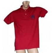 """Camisa Polo Masculina Vermelha """"G"""""""