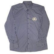 Camisa Top Premium Masculina Listras Azul