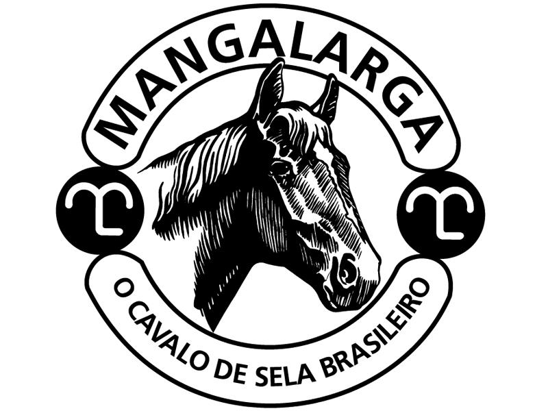 Adesivo Mangalarga 12x12cm  - Loja Mangalarga