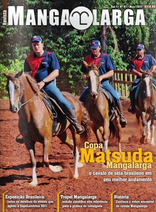 Revista Mangalarga Maio 2011  - Boutique Mangalarga