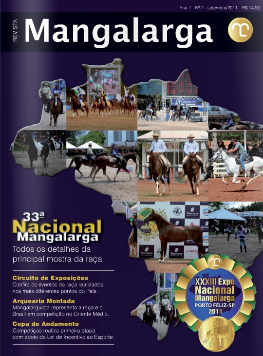 Revista Mangalarga Setembro 2011  - Boutique Mangalarga