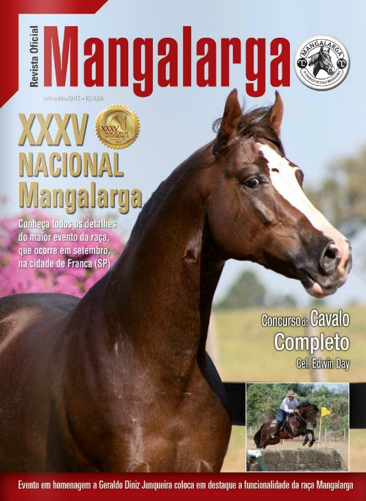 Revista Mangalarga Setembro 2013  - Boutique Mangalarga