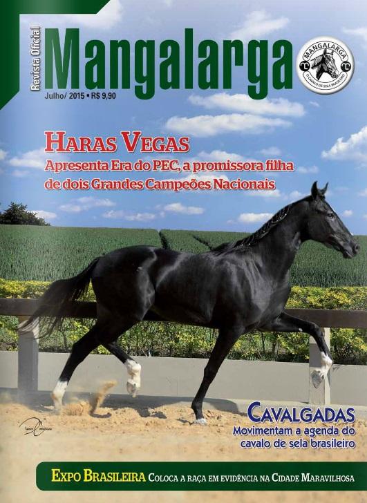 Revista Mangalarga Julho 2015  - Boutique Mangalarga