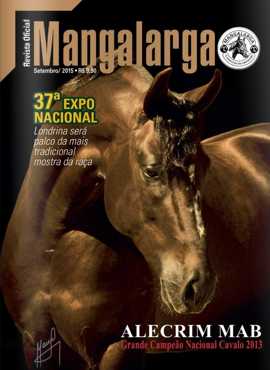Revista Mangalarga Setembro 2015  - Boutique Mangalarga