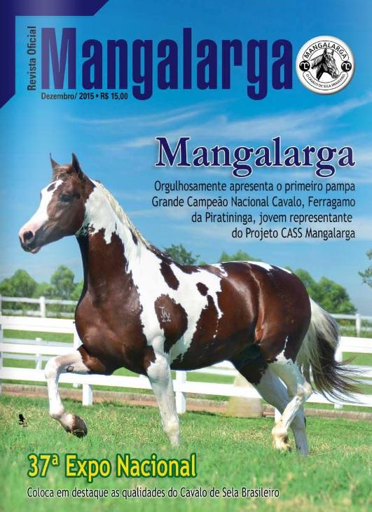 Revista Mangalarga Dezembro 2015  - Boutique Mangalarga