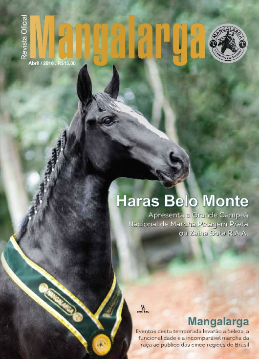 Revista Mangalarga Abril 2016  - Boutique Mangalarga