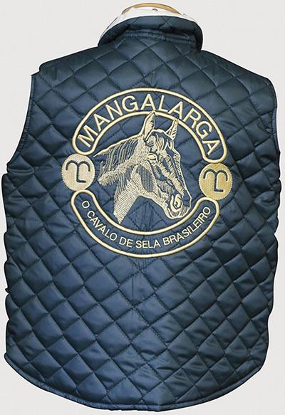 "Colete Infantil Verde Unissex Dupla Face Mangalarga ""12""  - Boutique Mangalarga"