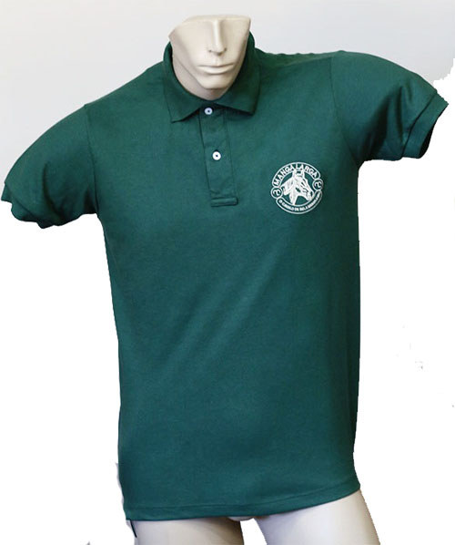 """Camisa Polo Masculina Verde """"M""""  - Boutique Mangalarga"""