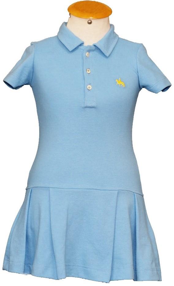 "Vestido Infantil Azul Claro ""4""  - Boutique Mangalarga"