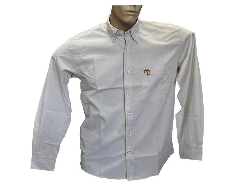 """Camisa Social Creme """"P""""  - Boutique Mangalarga"""