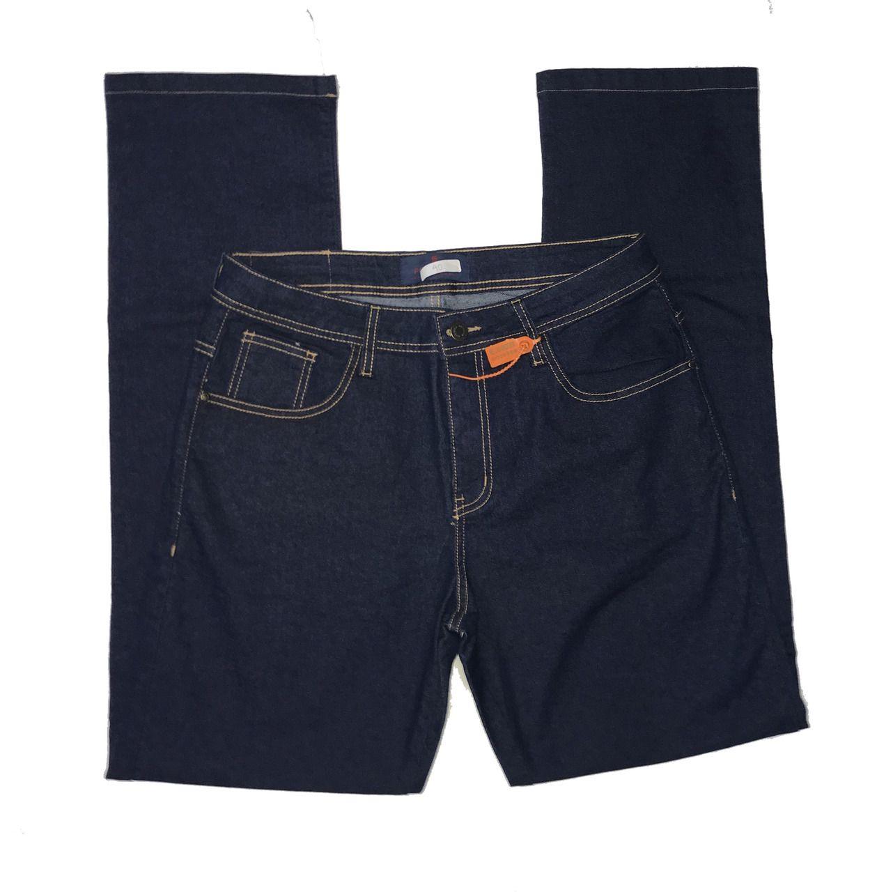 Calça Jeans Masculina Escura  - Loja Mangalarga