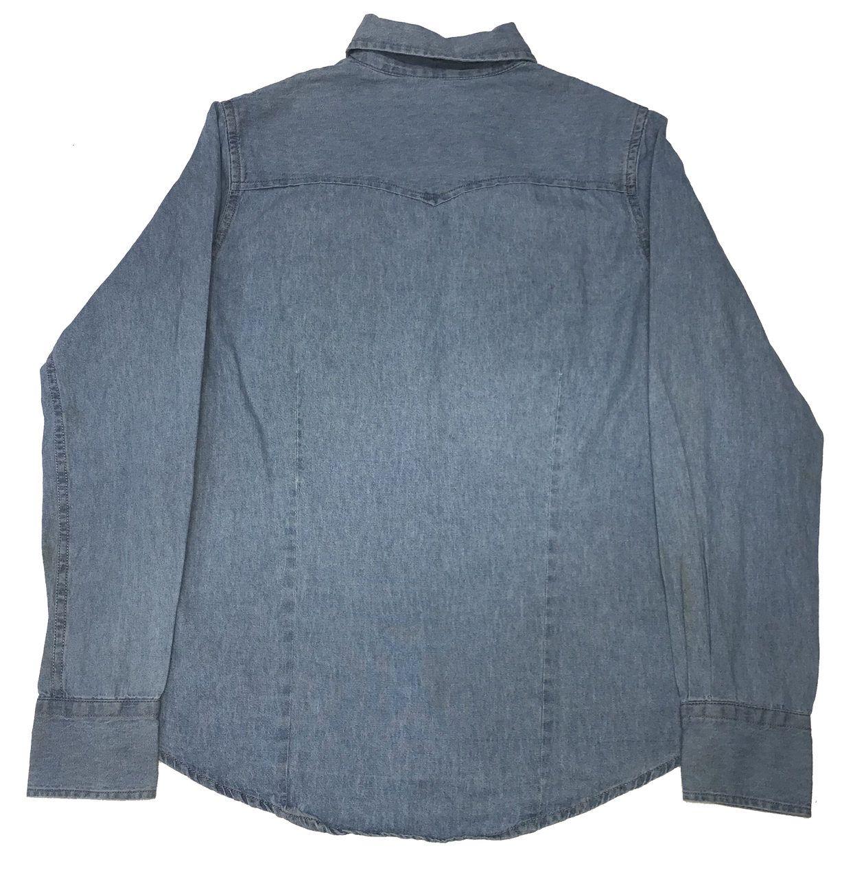 Camisa Jeans Feminina  - Boutique Mangalarga