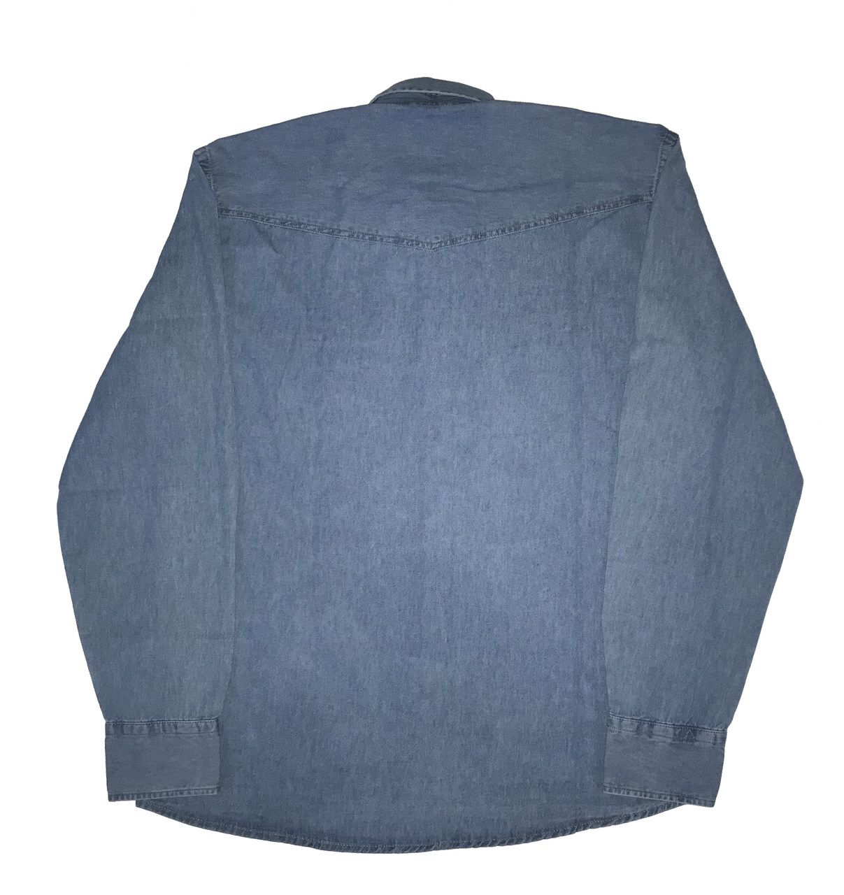 Camisa Jeans Masculina  - Boutique Mangalarga