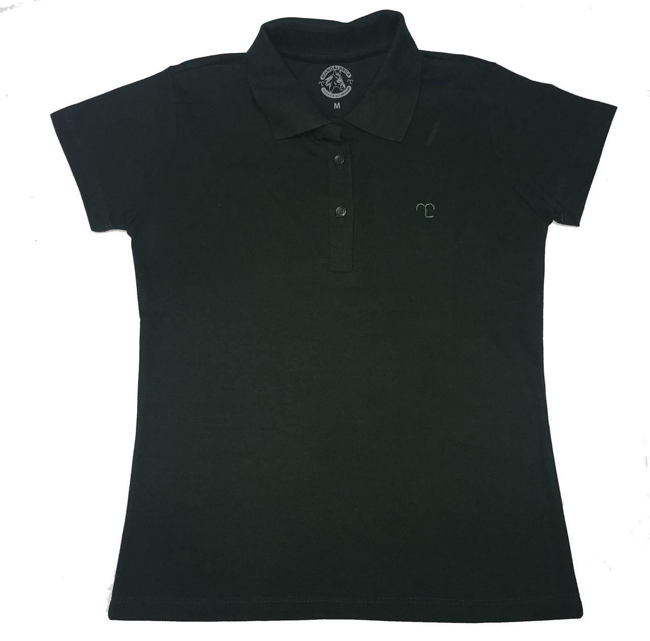 Camisa Polo Feminina Cores  - Boutique Mangalarga