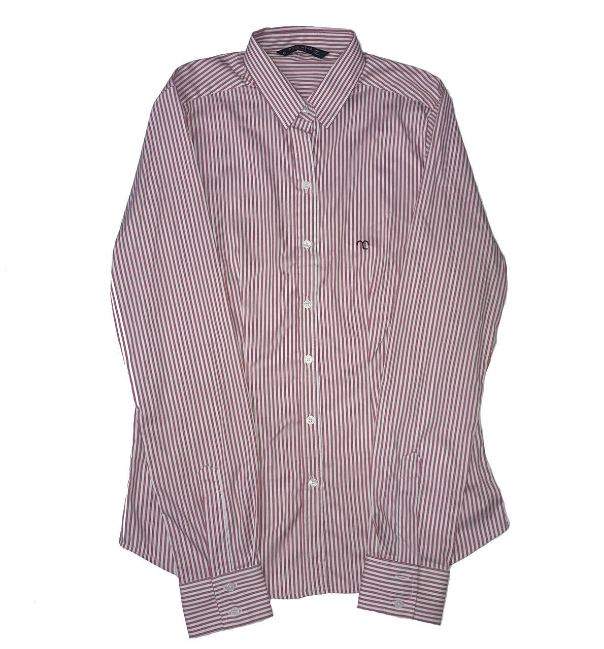 Camisa Social Feminina Listrada ML  - Boutique Mangalarga