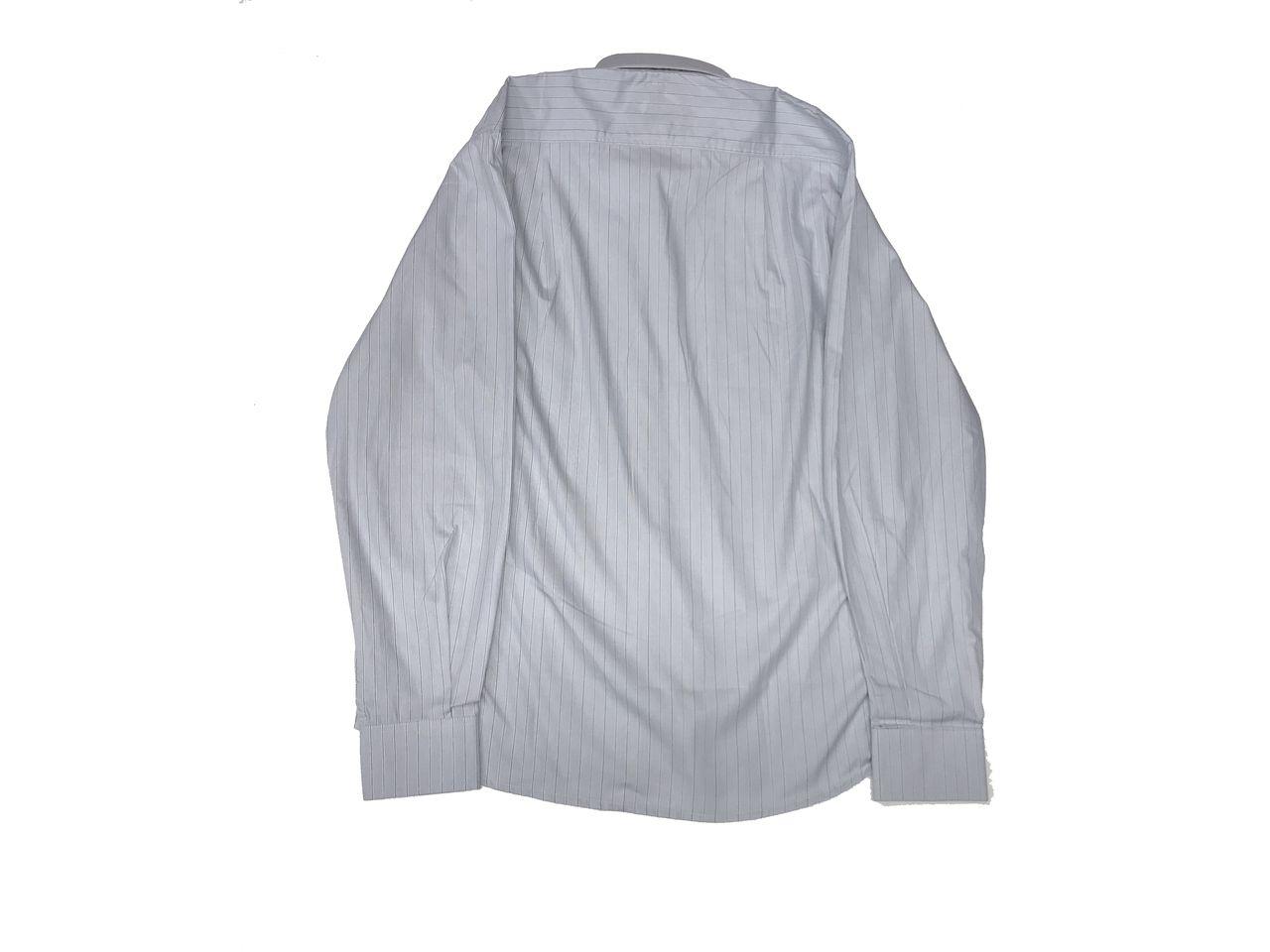 Camisa Social Masculina Listrada Azul  - Boutique Mangalarga