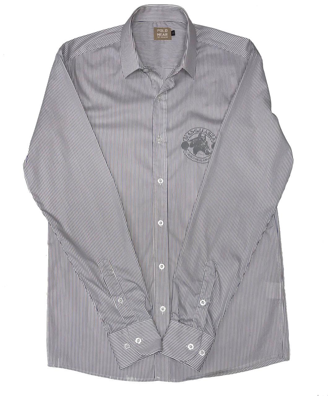 Camisa Top Premium Masculina Listras Vermelho e Azul  - Boutique Mangalarga