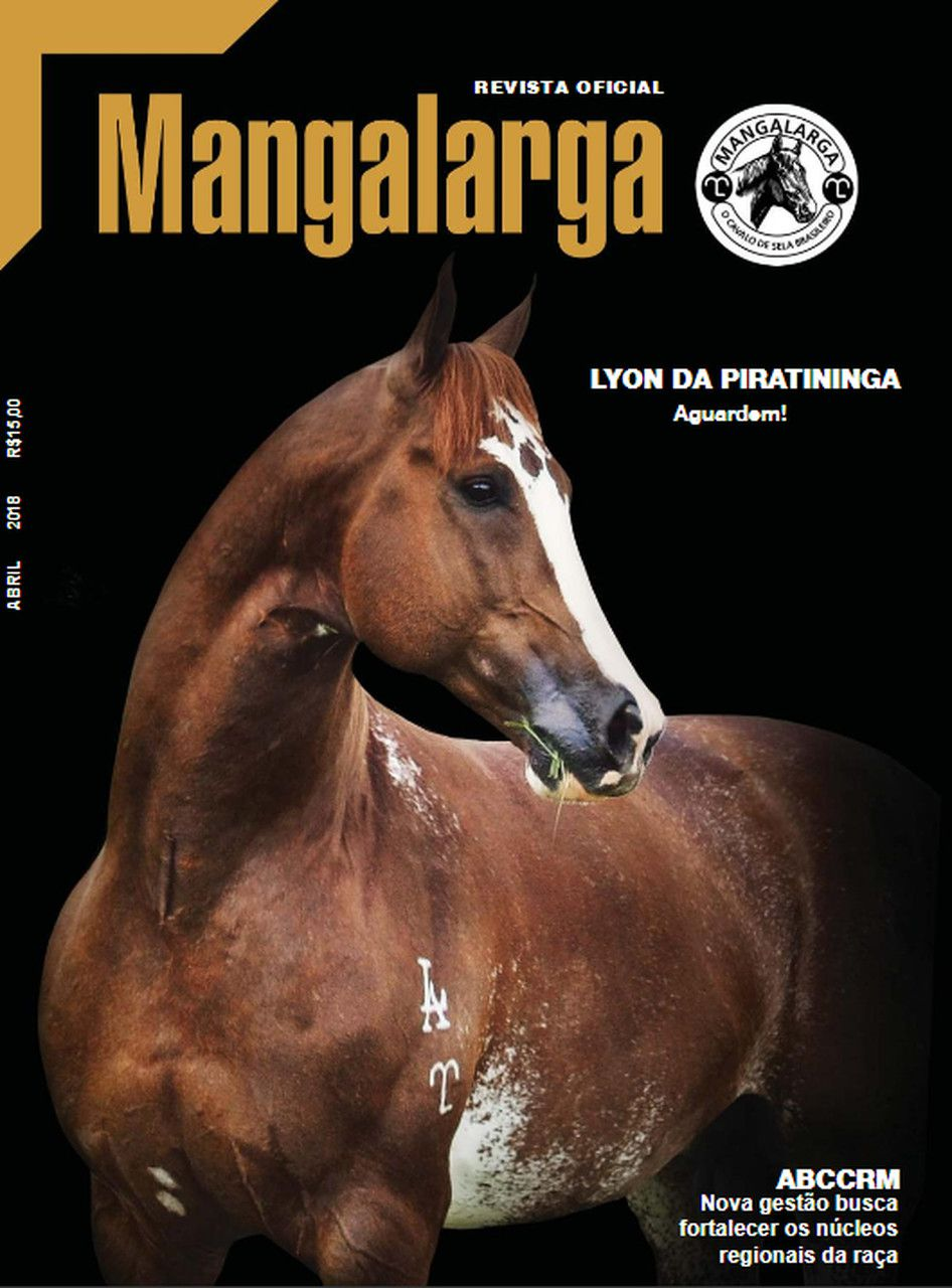 Revista Mangalarga Abril 2018  - Boutique Mangalarga