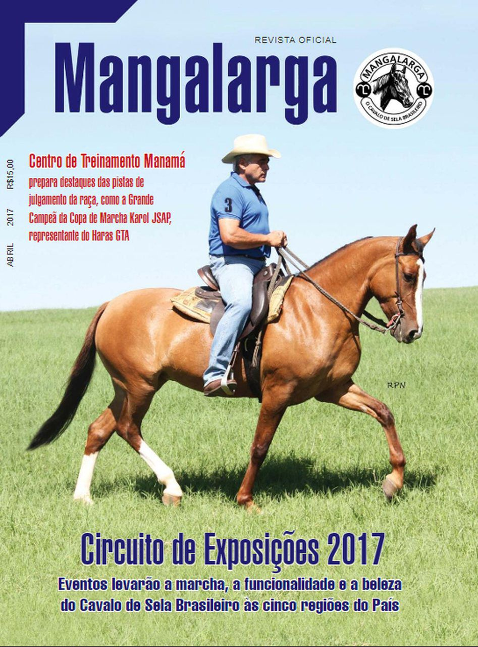 Revista Mangalarga Abril 2017  - Boutique Mangalarga